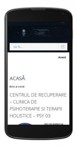 Versiune mobilă site PsyGalaxy