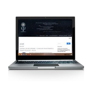 Psy Galaxy - website de prezentare simplu, responsive