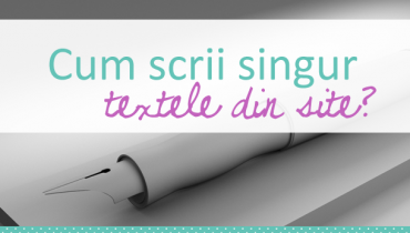 Texte in site - SEO Copywriting