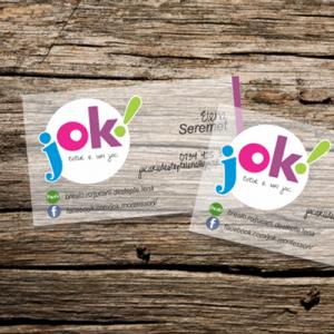 Logo, materiale târg și manual de identitate: JOK!