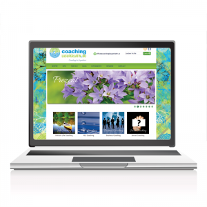 Web design website prezentare Coachinglasuperlativ.ro