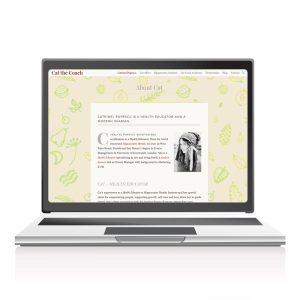 Site de prezentare Catthecoach.com