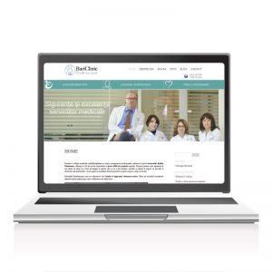 Site prezentare servicii medicale - Bariclinic
