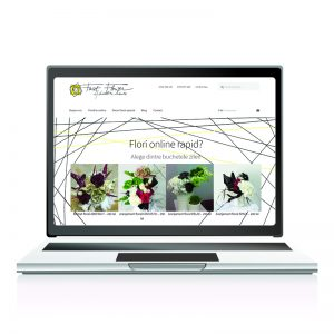 Creare website: magazin online - fastflower.ro