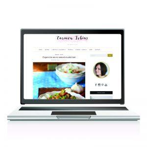 Website de prezentare carmentobias.ro