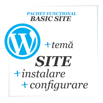 Constructie site - website simplu Wordpress