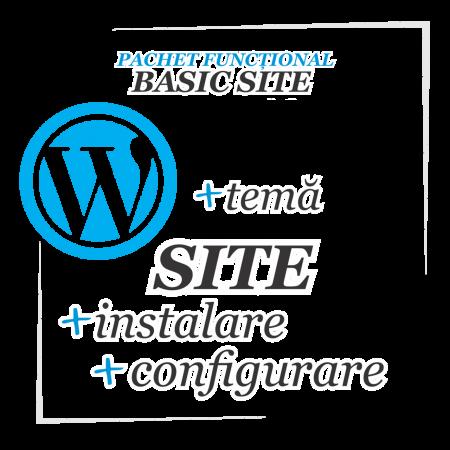 Constructie site - website simplu Wordpress