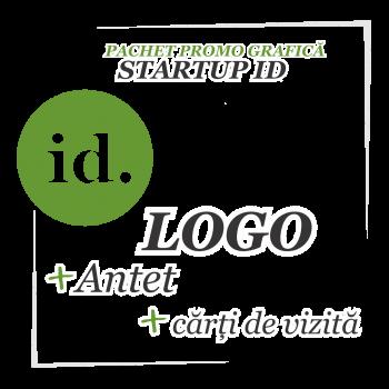 Ofertă grafică Startup ID - logo, cărți de vizită, antet