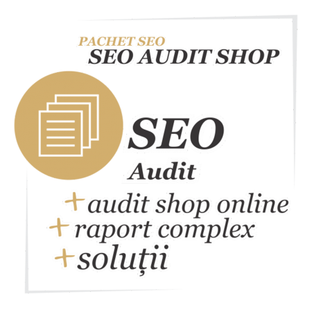 Audit SEO magazin online (shop)