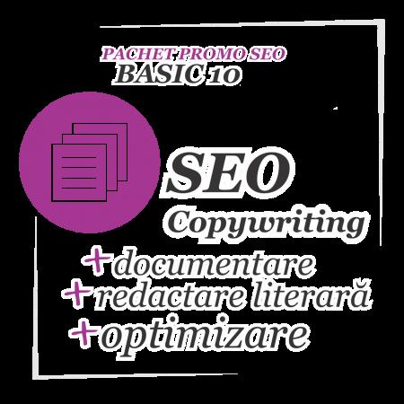 SEO Copywriting - redactarea corectă a textelor site-ului tău