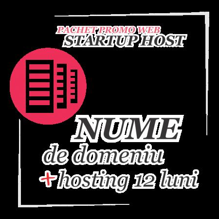 Pachet promo web STARTUP HOST