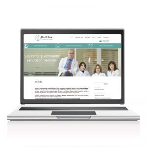 Site prezentare servicii medicale